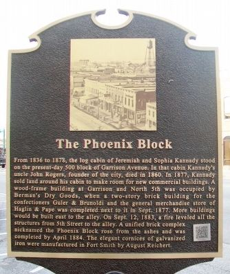 The Phoenix Block Marker image. Click for full size.