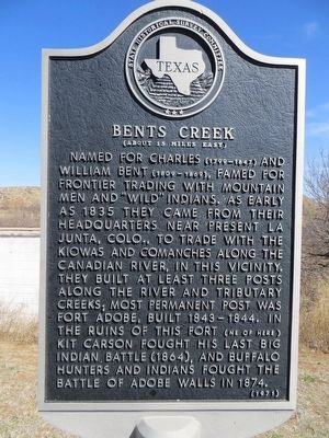 Bents Creek Marker image. Click for full size.