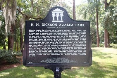 H. H. Dickson Azalea Park (side A) image. Click for full size.