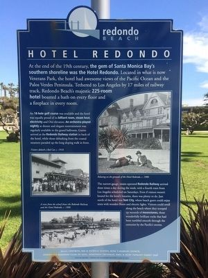 Hotel Redondo Marker image. Click for full size.