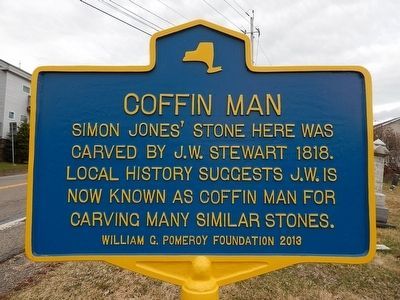 Coffin Man Marker image. Click for full size.