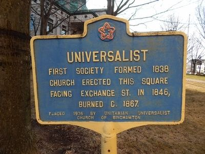 Universalist Marker image. Click for full size.