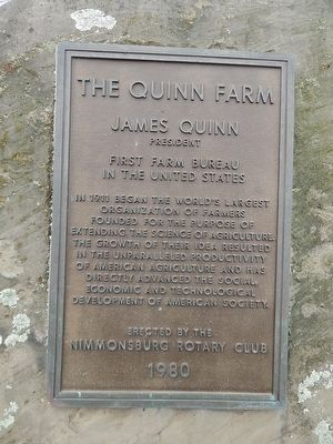 The Quinn Farm Marker image. Click for full size.