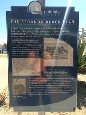 The Redondo Beach Plan Marker image. Click for full size.