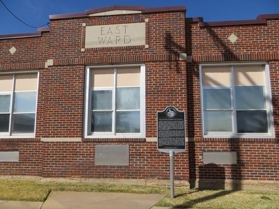 East Ward Elementary School Marker image. Click for full size.