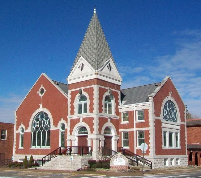 First United Methodist Church, Rogers, Arkansas image. Click for full size.