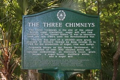 The Three Chimneys Marker image. Click for full size.