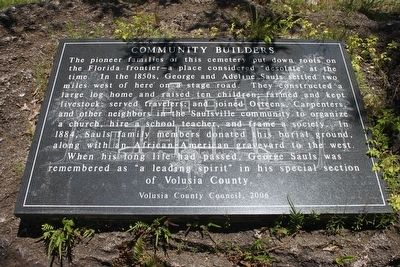 Community Builders Marker image. Click for full size.