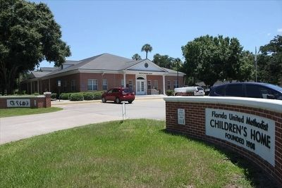 Florida United Methodist Children's Home Entrance image. Click for full size.