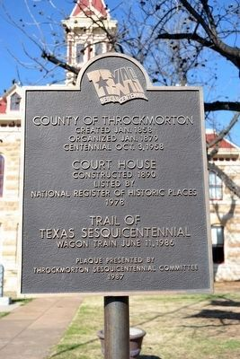 Nearby Sesquicentennial Plaque image. Click for full size.