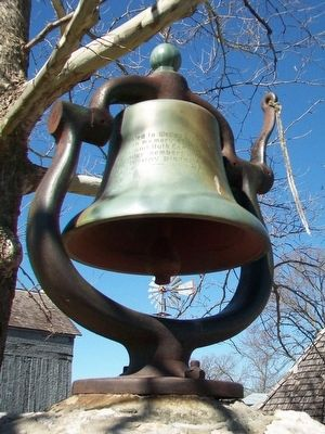 Wesley Chapel Bell image. Click for full size.