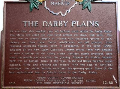 The Darby Plains Marker image. Click for full size.
