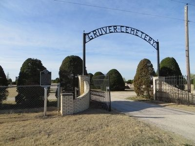 Gruver Cemetery Marker image, Touch for more information