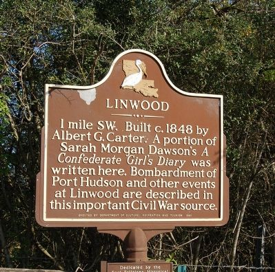 Linwood Marker image. Click for full size.