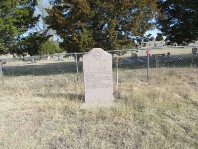 Site of Hansford County Courthouse Marker image. Click for full size.