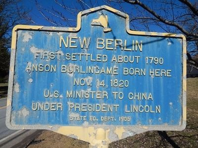 New Berlin Marker image. Click for full size.