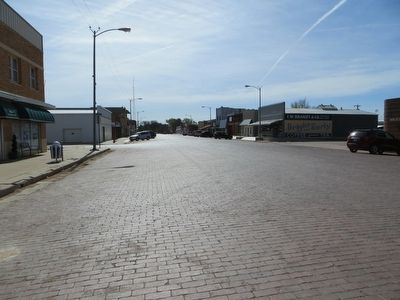 Brick Streets of Spearman image. Click for full size.