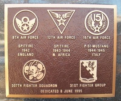 307th Fighter Squadron Marker image. Click for full size.