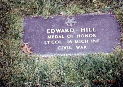 Edward Hill-Civil War Congressional Medal of Honor Recipient image. Click for full size.