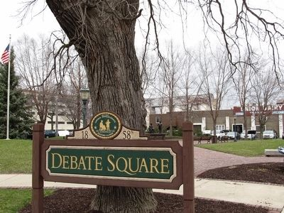 Debate Square image. Click for full size.