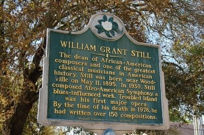 William Grant Still Marker image. Click for full size.