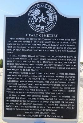 Heart Cemetery Marker image. Click for full size.