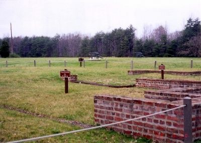 Chancellorsville Inn-1815-Foundation staked image. Click for full size.