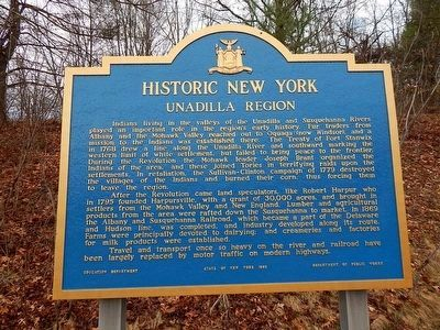 Unadilla Region Marker image. Click for full size.