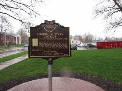 Virginia Military District Marker image. Click for full size.