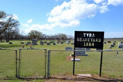 Tyra Graveyard - Murray Community Cemetery image. Click for full size.