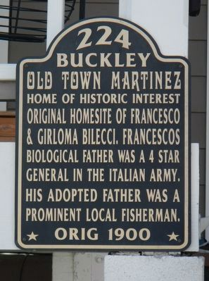 224 Buckley Marker image. Click for full size.