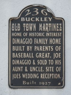 236 Buckley Marker image. Click for full size.