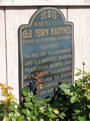 215 Marina Vista Marker image. Click for full size.