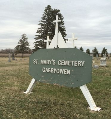 St. Mary's Catholic Cemetery Marker image. Click for full size.
