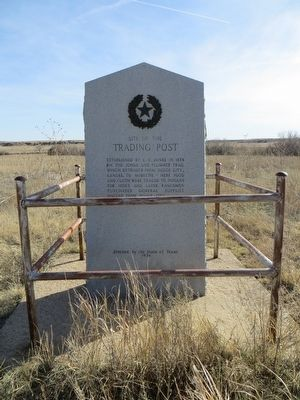 Site of the Trading Post Marker image. Click for full size.