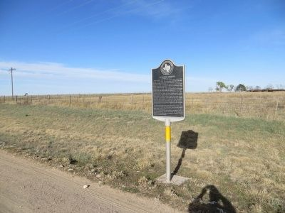 Ochiltree Townsite Marker image. Click for full size.