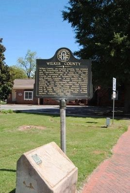 Wilkes County Marker image. Click for full size.
