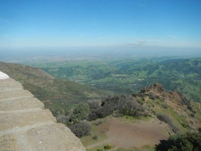 View from the summit of Mount Diablo, looking east. image. Click for full size.