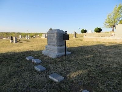 Thomas T. McGee grave-site image. Click for full size.
