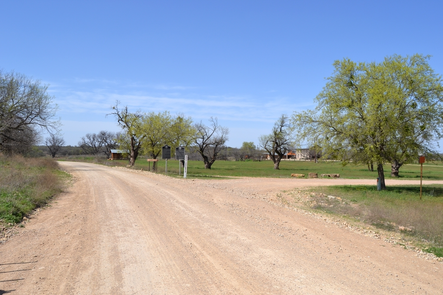 View to West on County Road 184