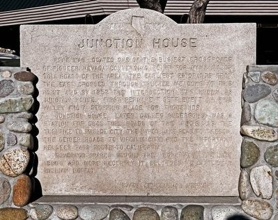 Junction House Marker image. Click for full size.