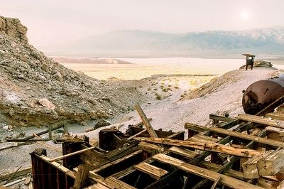 View of Death Valley from Keane Wonder Mine image. Click for full size.