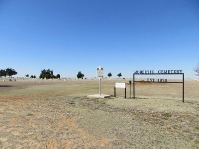 Mobeetie Cemetery image. Click for full size.