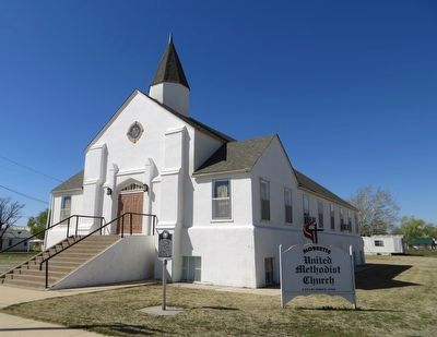 Mobeetie United Methodist Church image. Click for full size.
