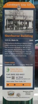 Sherburne Building Marker image. Click for full size.
