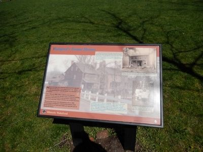 Walnford's Tenant Houses Marker image. Click for full size.