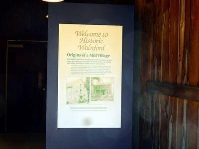Welcome to Historic Walnford-Origins of a Mill Village image. Click for full size.