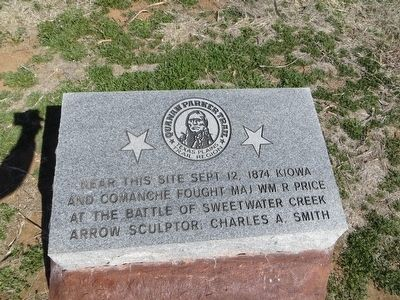 Quanah Parker Trail Marker image. Click for full size.