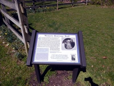 Historic Walnford Park Marker image. Click for full size.