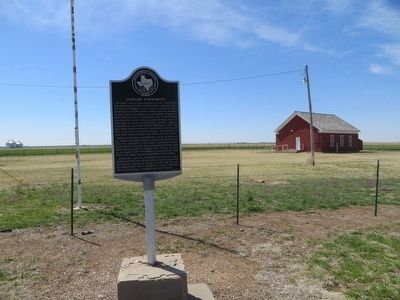 Wayside Community Marker image. Click for full size.
